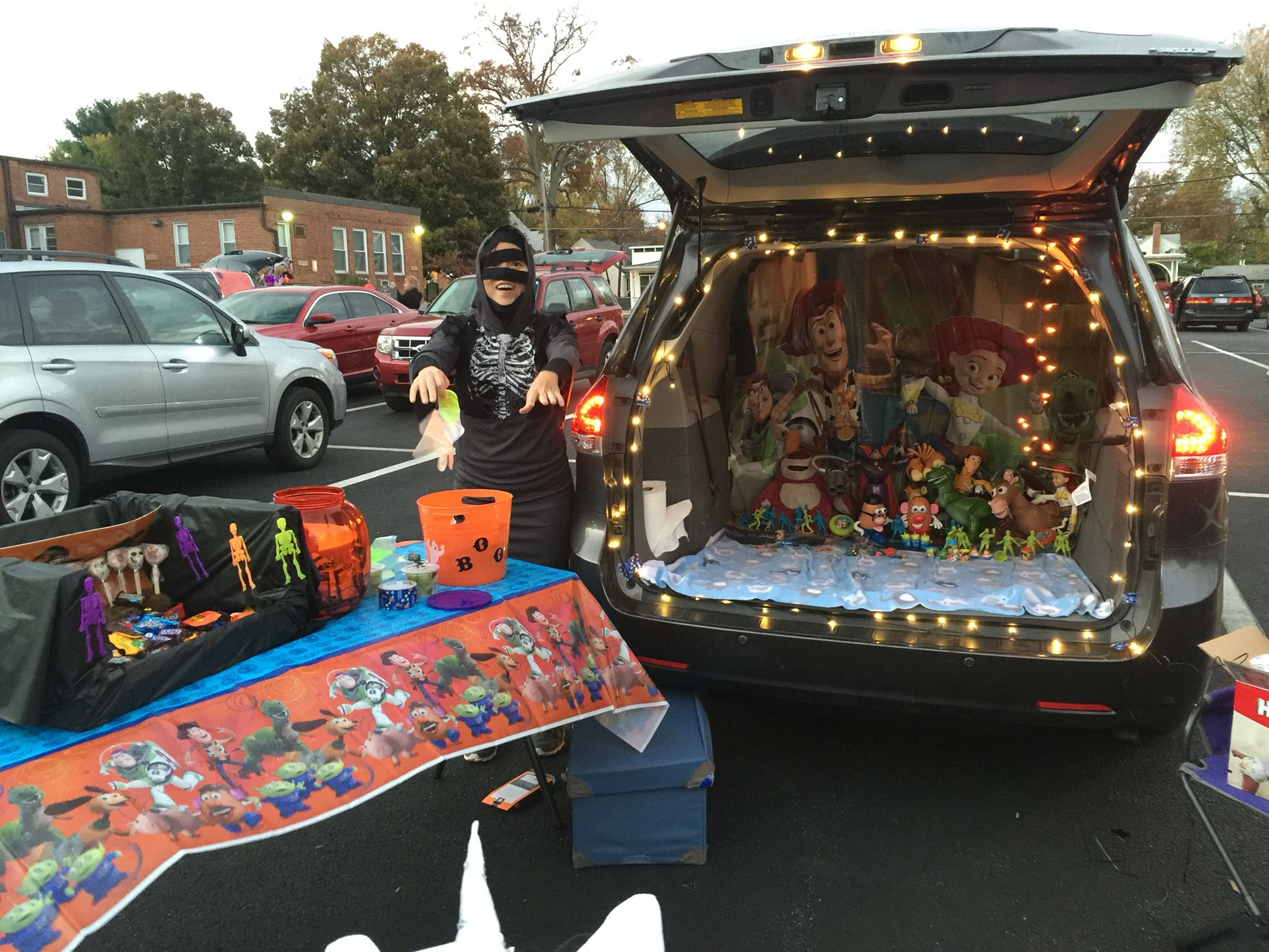 Toy Story Themed Trunk Or Treat Truck Or Treat Trunk Or Treat Halloween Party Kids