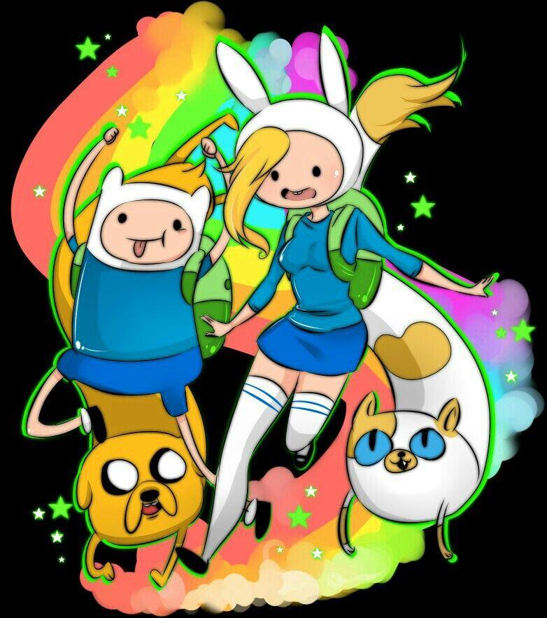 Finn and Fionna meet | Adventure time anime, Jake