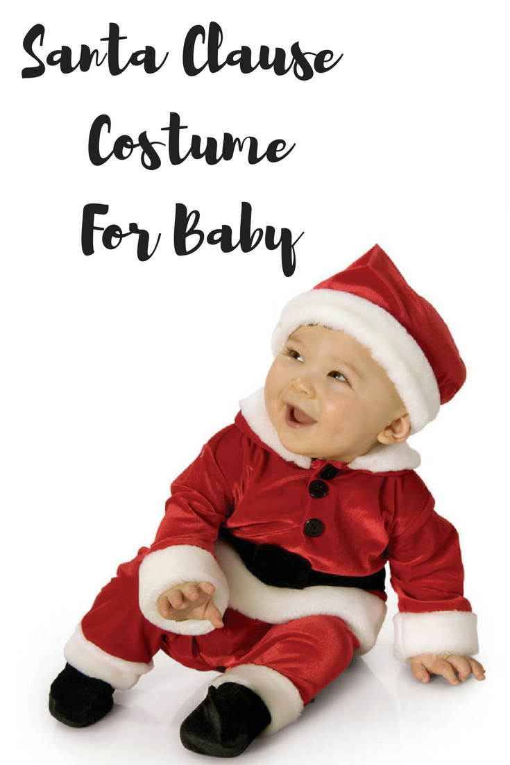 Cute little Santa Clause Costume for baby! #santa#baby#christmas ...