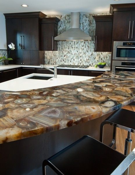 Semi Precious Stone Countertop It Is So Lovely