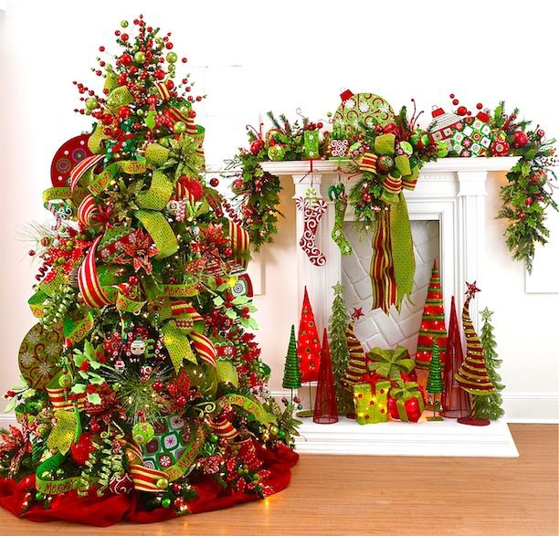 Designer Decorated Christmas Trees