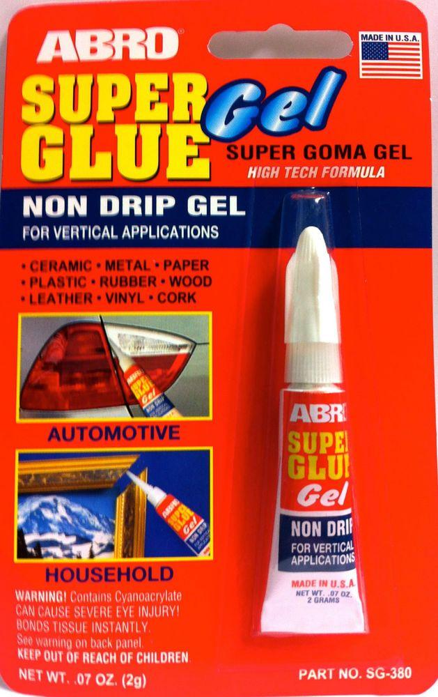 Super Glue Gel Ebay Super Glue Gel Glue