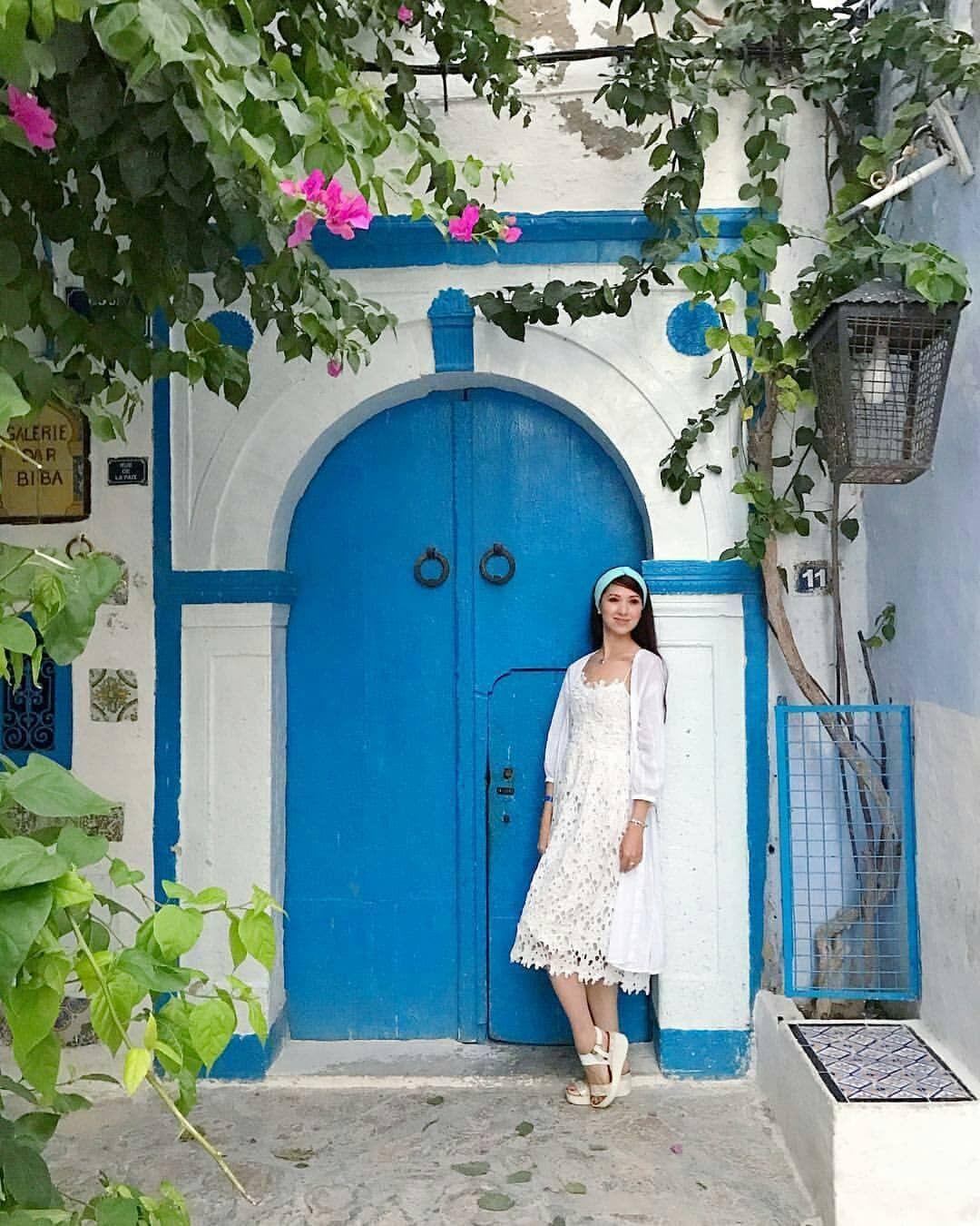 البعض من ازقة المدينة العتيقة بالحمامات التابعة لولاية نابل الحمامات نابل تونس اكتشف تونس السياحة في تونس Some Photos