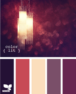 I like these colors but with a bit more white in them for subtlety.