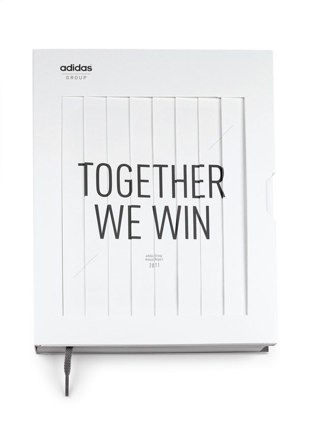 Together We Win Adidas Annual Report 2011 Avec Images