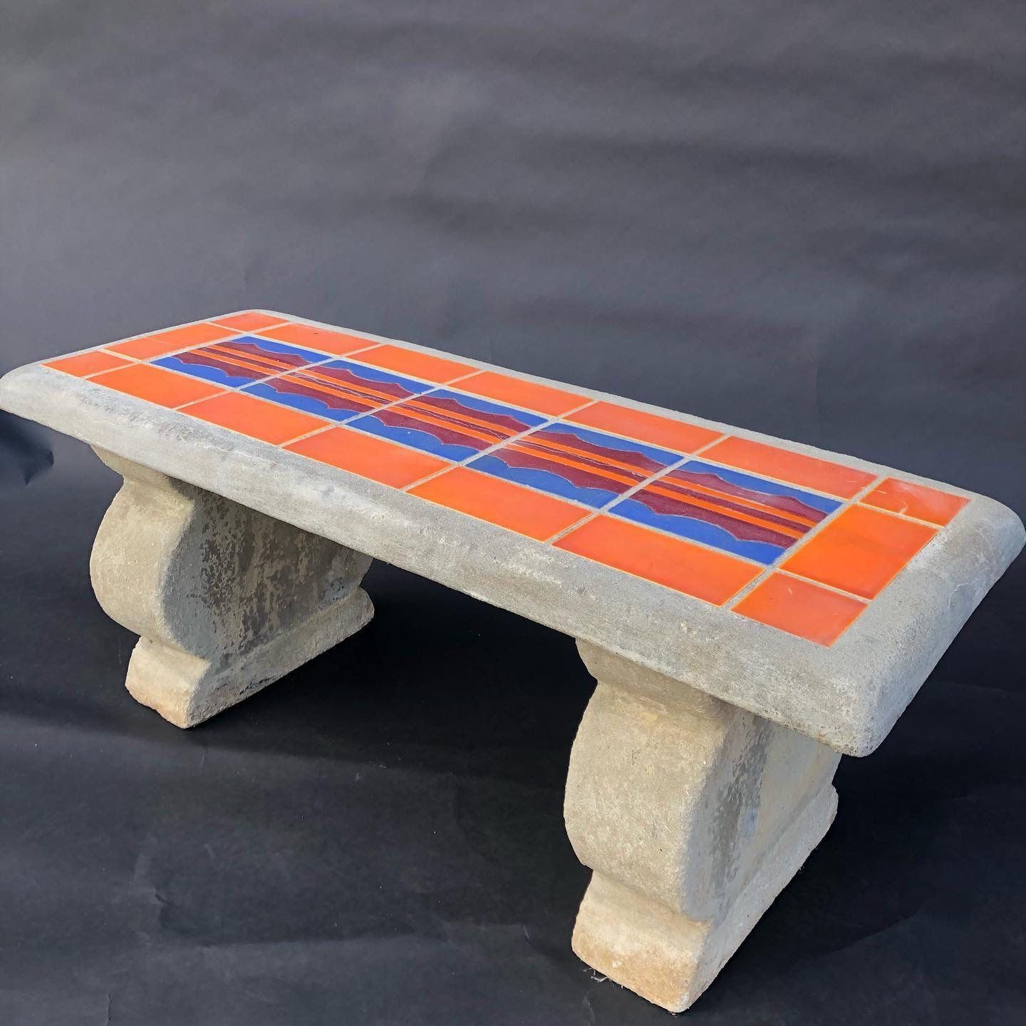 Early California Antiques Hillside Bench Coffee Table Decor Antiques