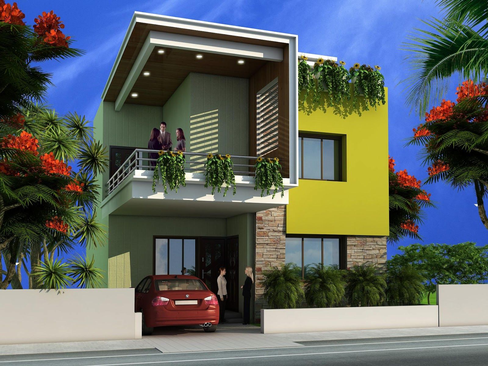 Architecture House Design Ideas duplex house exterior - google search | facade | pinterest