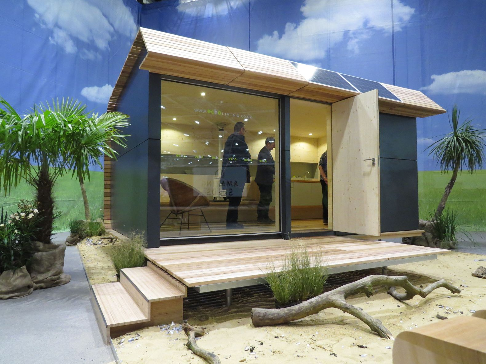 Get Off The Grid In Style With The Tiny Solar Powered Wave Eco Cabin