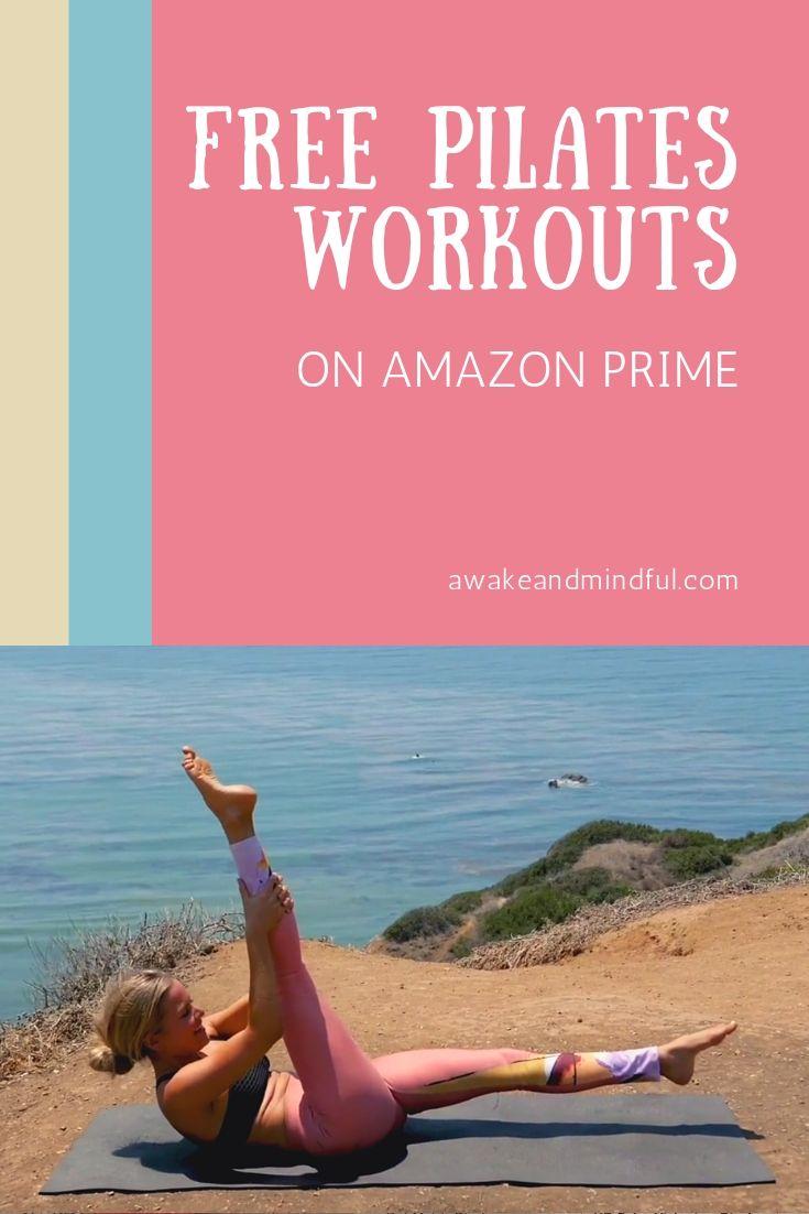 Pilates Workout Videos on Amazon Prime