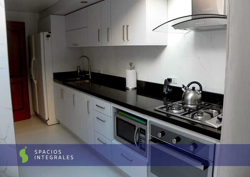 Cocinas Integrales modernas de excelentes acabados para su hogar en
