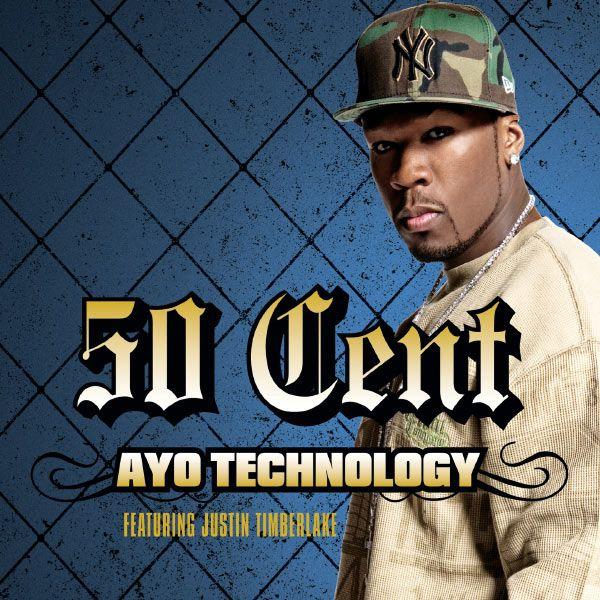50 Cent, Justin Timberlake, Timbaland – Ayo Technology (single cover art)