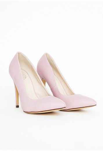 44acff9eb1 Natalie Court Shoes In Baby Pink - Footwear - Heels - Missguided ...