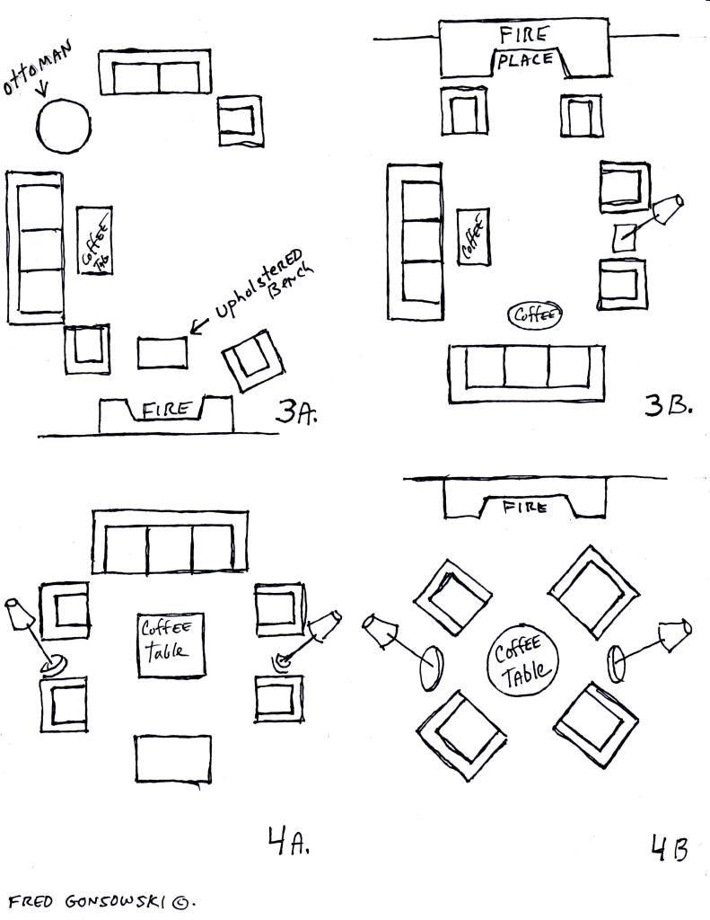 Professional Furniture Arrangements Rectangle Living Room