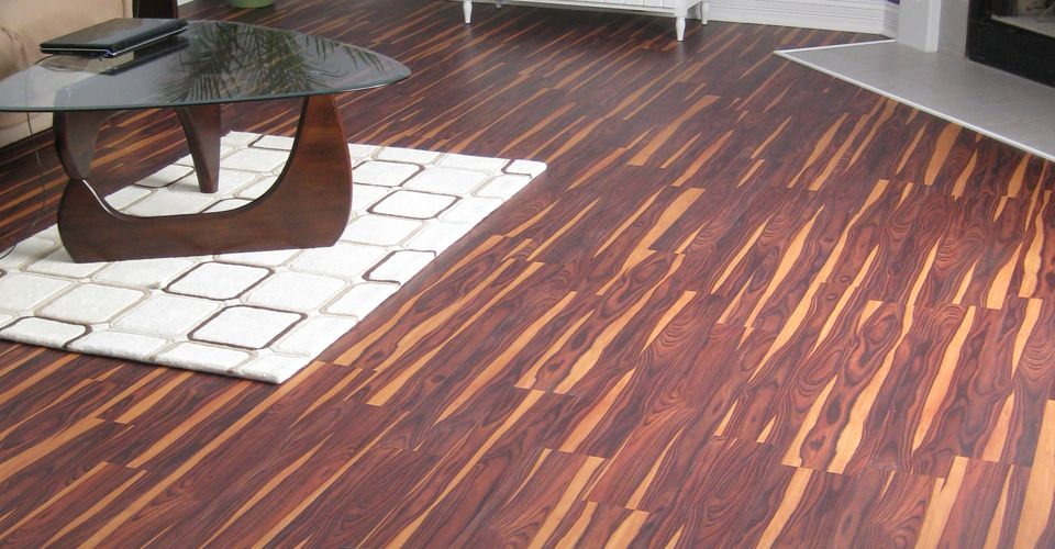 African Wood Dark With Easy Gripstrip Installation Vinyl