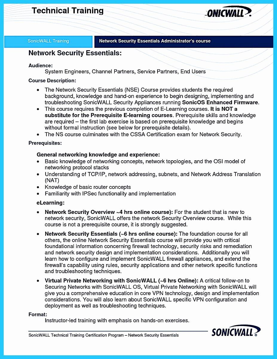23 Cyber Security Resume Example in 2020 Security resume