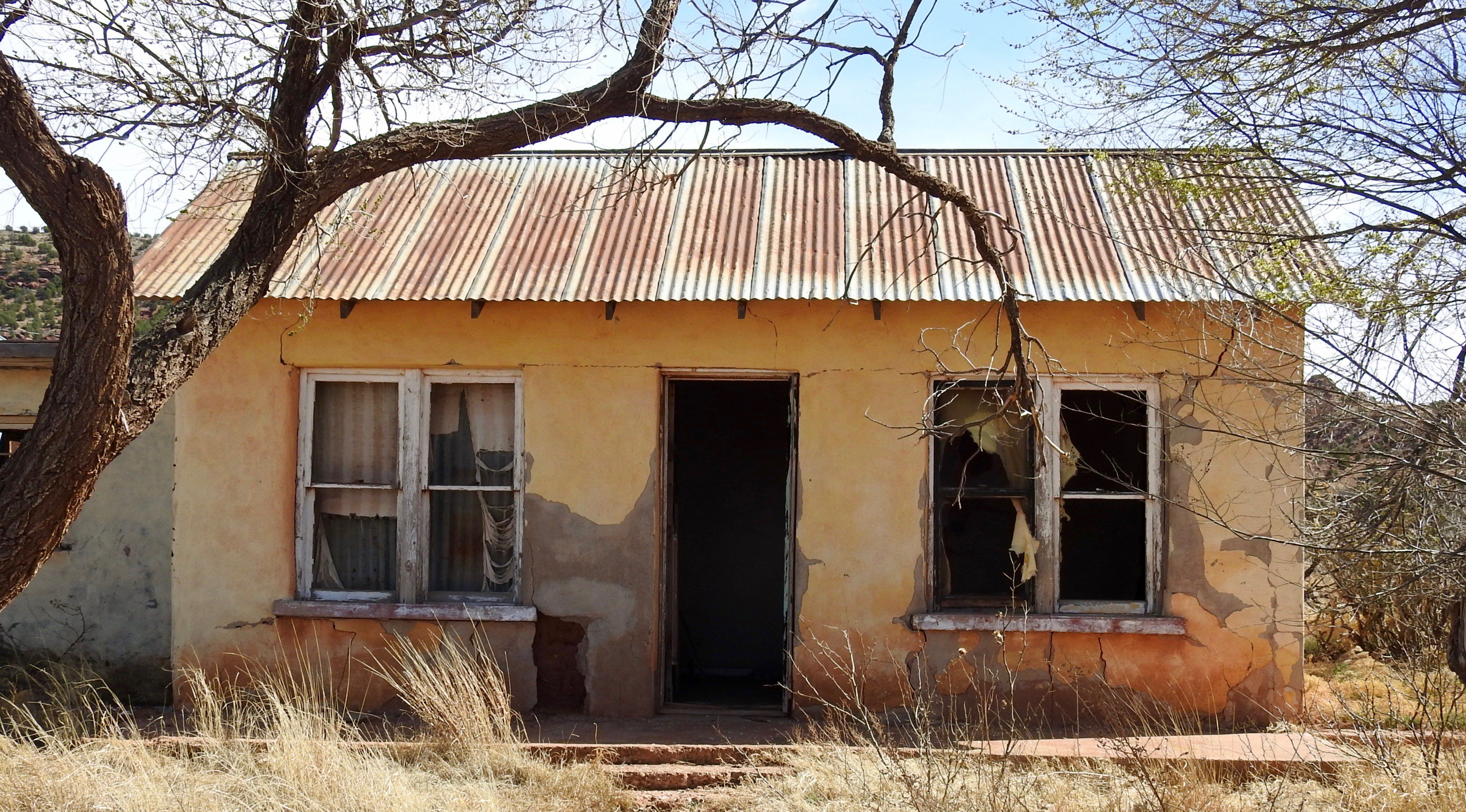 This Creepy Ghost Town In New Mexico Is The Stuff ...
