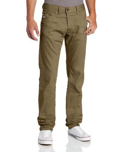 92313b6c Diesel Men's Darron Regular Slim Tapered Leg Jean 008QU | Men's ...
