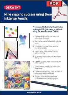 Pdf Instructions Nine Steps To Success Using Derwent Inktense