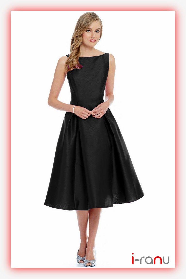 e8367680e Charmi black plain taffeta one piece western dress
