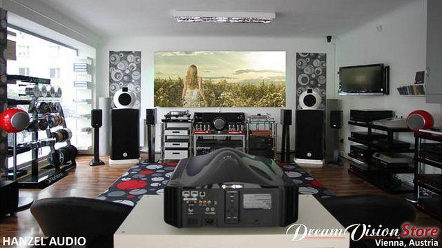 Dreamvision Store in Vienna: Hanzel Audio - Wienerbergstrasse 36/1/1A - 1120 Wien - Austria  Tel: +43 (1) 996-2050 - info@hanzelaudio.com - www.hanzelaudio.com