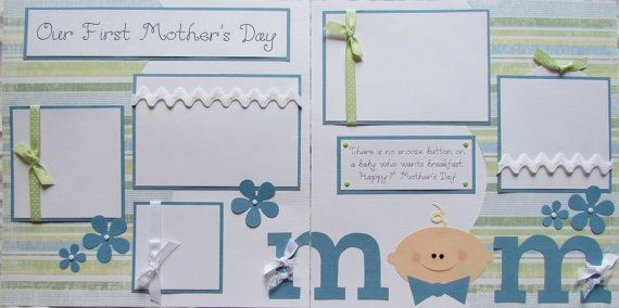 Items similar to BaBy's FIRST MOTHER'S DAY Premade