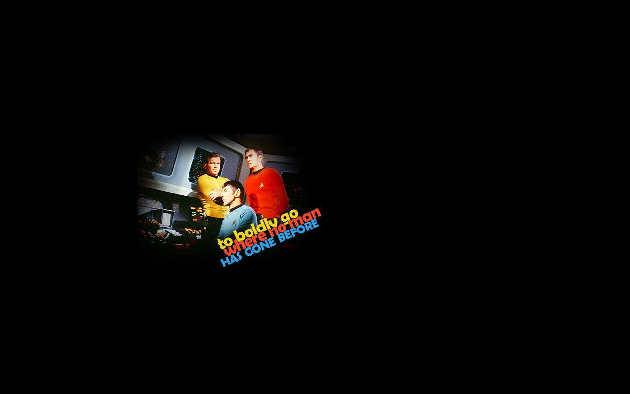 To Bodly Go... - Star Trek: The Original Series Wallpaper ...