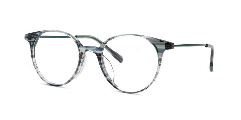 TC Charton Sakura Crystal Green Asian Fit Eyeglasses
