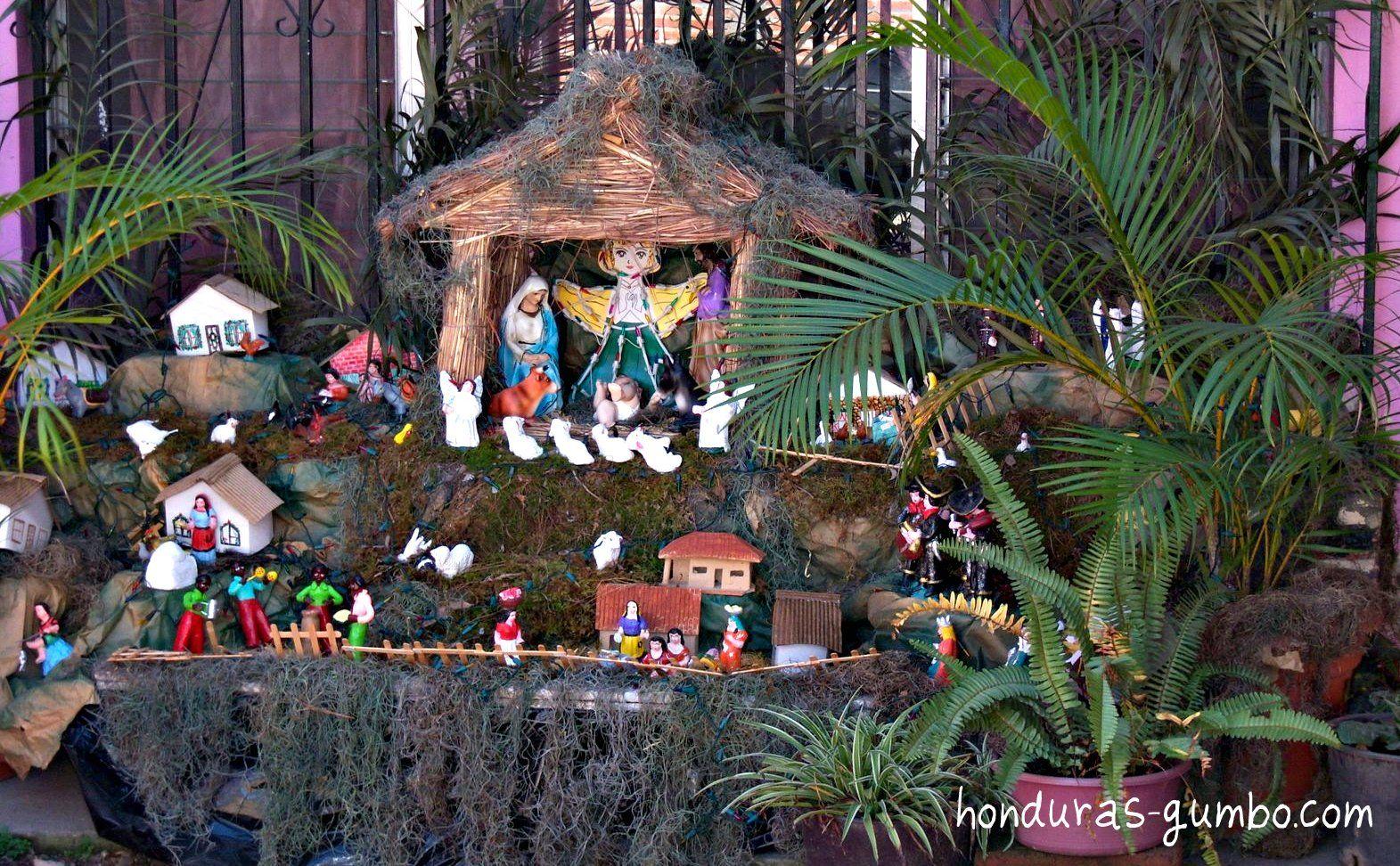 Nativity Scene Comayagua Honduras Navidad Christmas Ornaments Holiday Decor