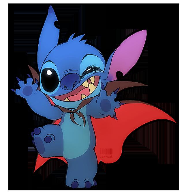 Stitch Or Trick By Yen Cat On Deviantart Stitch Drawing Stitch Disney Lilo And Stitch