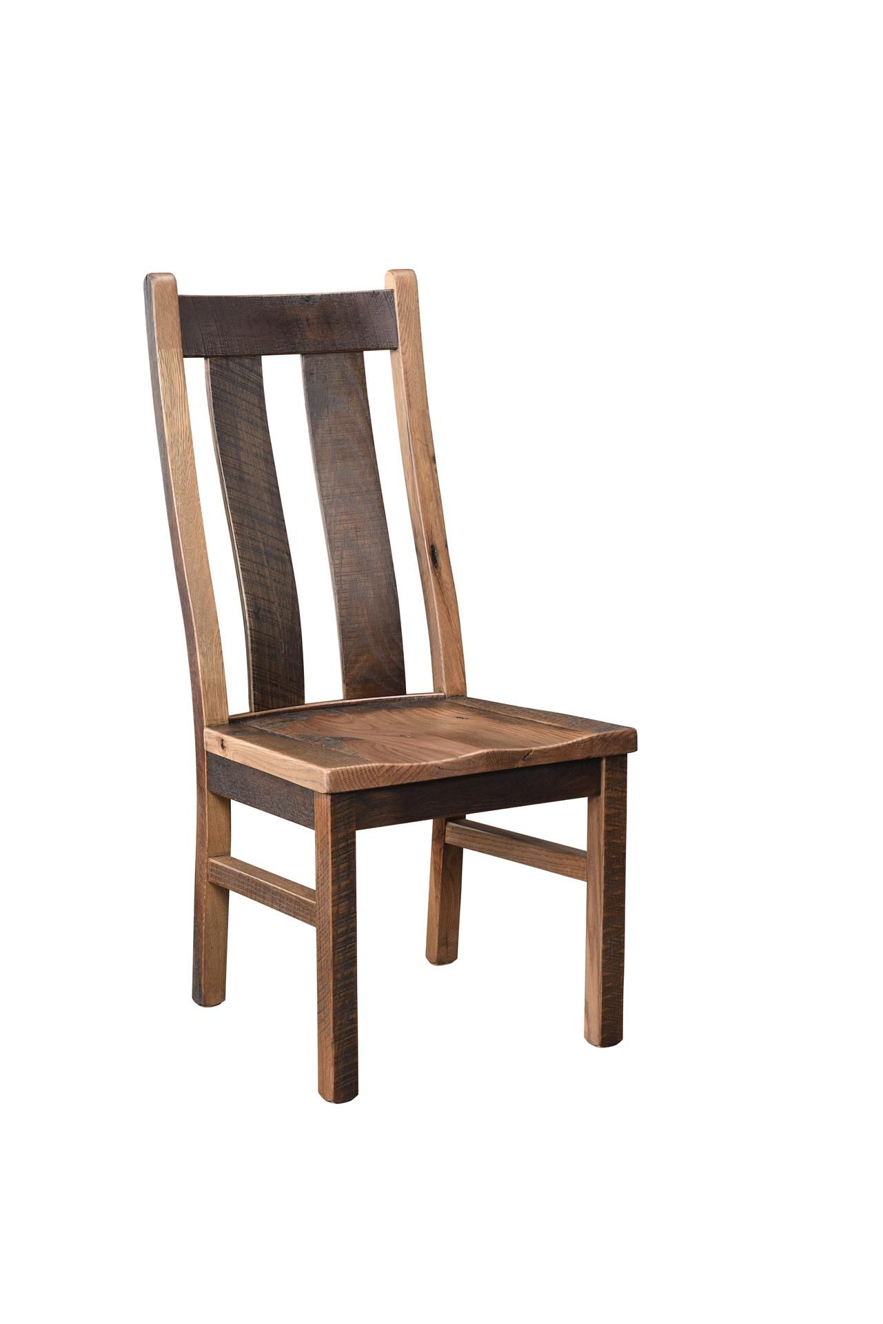 Recycled Barn Wood Bristol Dining Chair FurnitureDining