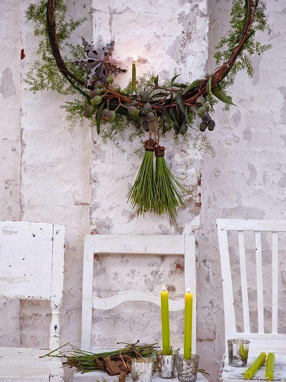 Keltainen talo rannalla: Rentoa tyyliä ja joulujuttuja