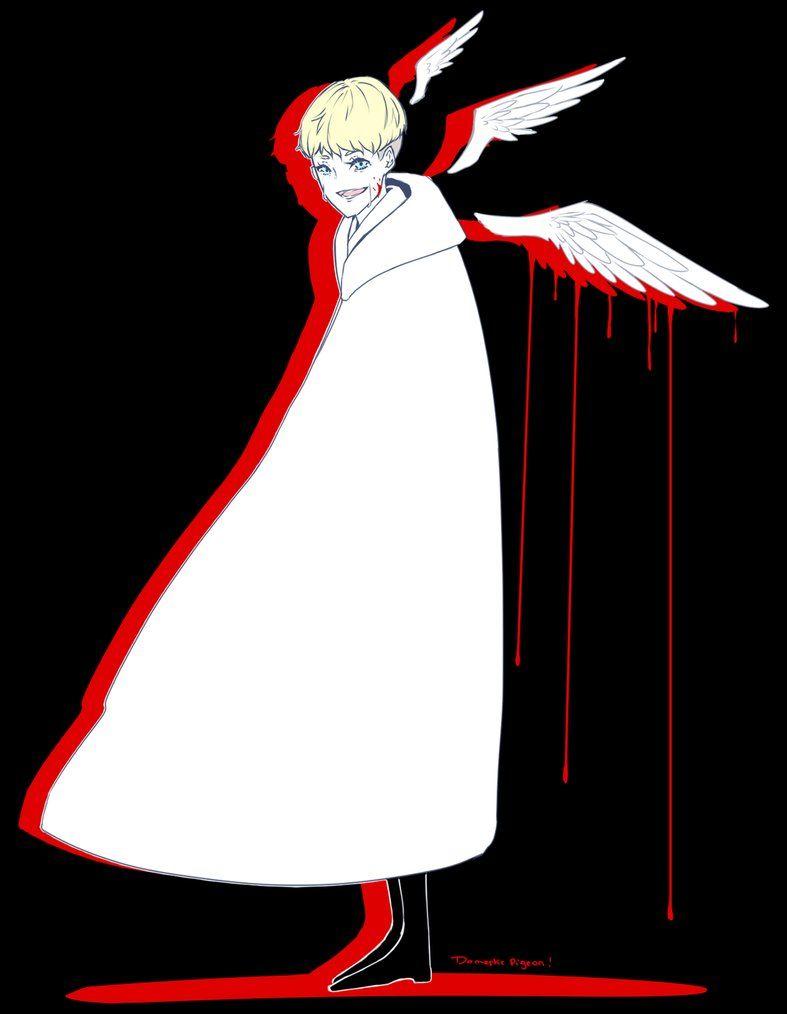 Devilman Crybaby Ryo Satan My Lord Eeriemansion Devilman Crybaby Cry Baby Supreme Iphone Wallpaper