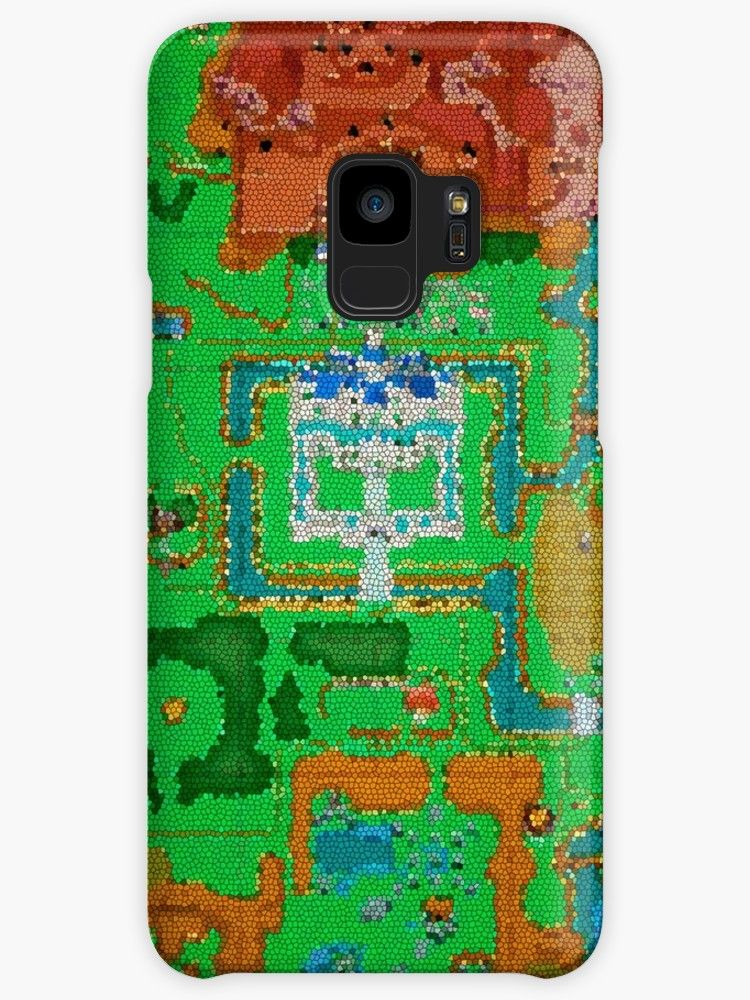 Mosaic Hyrule Map | The Legend of Zelda: A Link Between ...