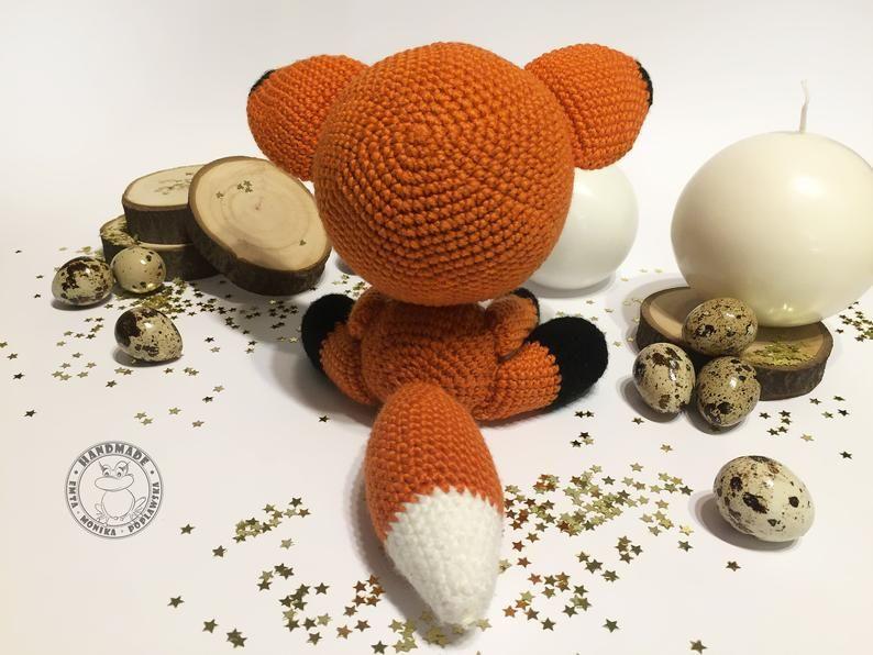 Sleepy Fox Free Crochet Pattern Amigurumi]  Your Crochet ...   596x794