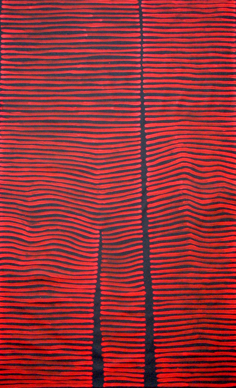 Aboriginal Artwork by Adam Reid. Sold through Coolabah Art on eBay. Cataogue ID 11042
