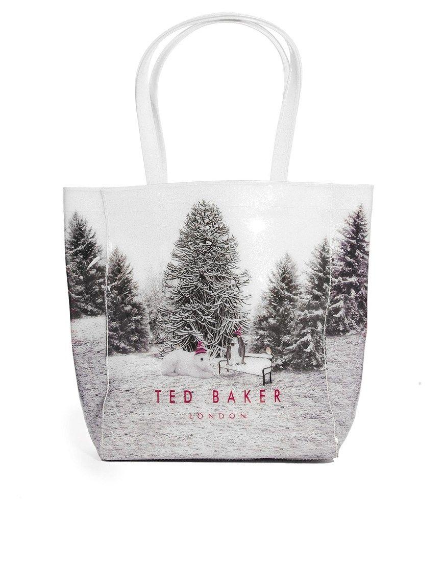 Ted Baker Snow Place Like Home Small Ikon Bag