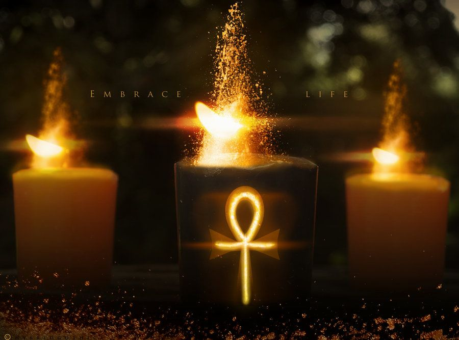 Kemetic Ascension  by hybridgothica | Deviant Art | Candles