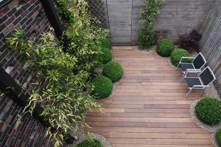 Tuin inspiratie door tijdschrift small garden pinterest tuin doors en inspiratie - Terras rand idee ...