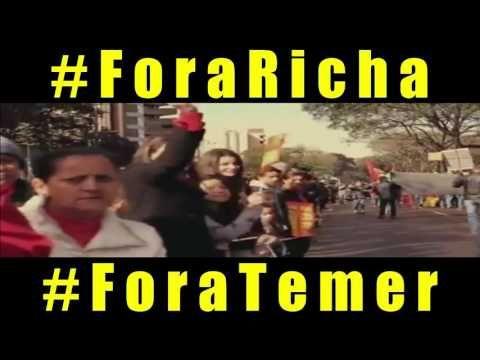 #ForaTemer - ANIVERSÁRIO DE FOZ DO IGUAÇU (#ForaTemer) https://youtu.be/aeNmrcZ9yas