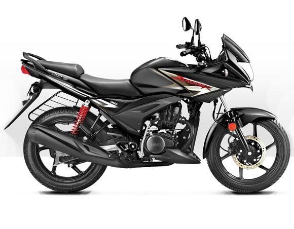 Pics The Brand New Hero Ignitor Is Here Honda Cb Honda Hero