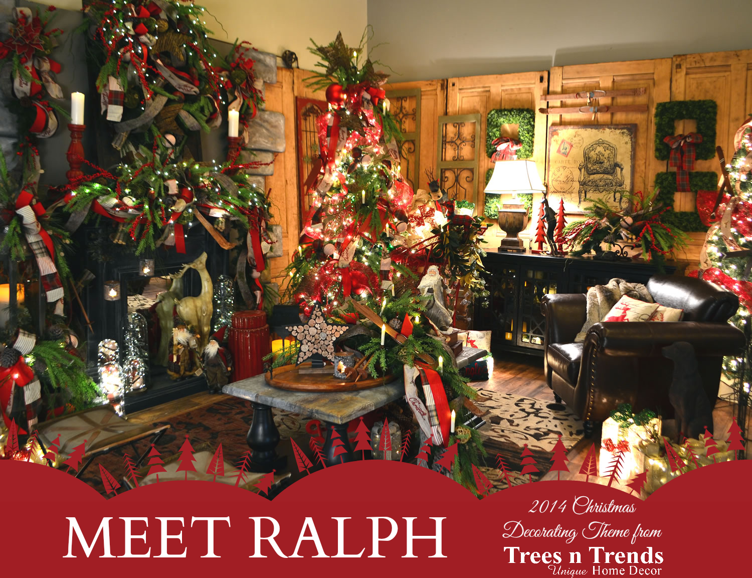 Trees N Trends A Christmas Decorating Theme For Every Member Of