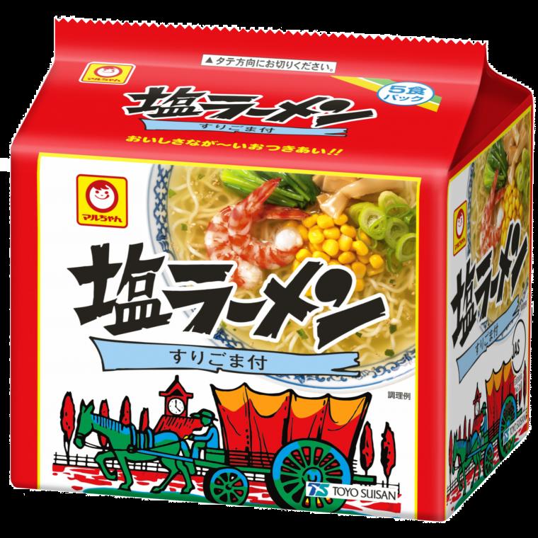 Photo of 塩ラーメン 5食パック | 商品情報 – 東洋水産株式会社
