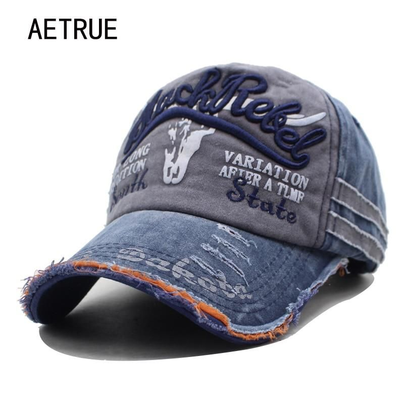 AETRUE Brand Men Baseball Caps Dad Casquette Women Snapback Caps Bone Hats  For Men Fashion Vintage Hat Gorras Letter Cotton Cap 7eca275f4ff5