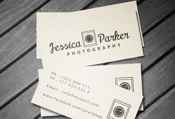 Mini Business Card Mini Business Card Business Card Template Design Photography Business Cards