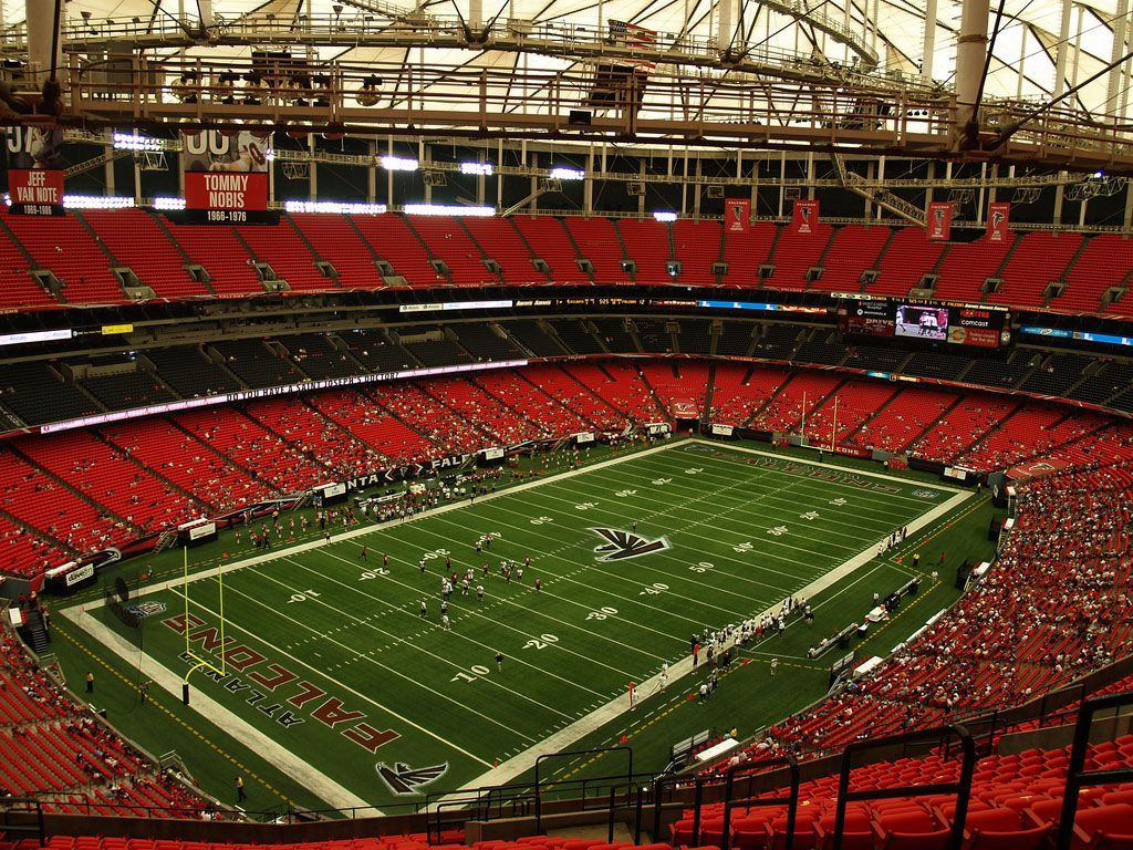 Atlanta Falcons Georgia Dome Atlanta Falcons Nfl Stadiums