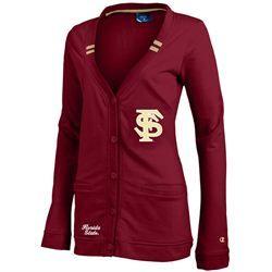 927a6515a30 Florida State University Seminoles Womens Cardigan Sweater - Champion