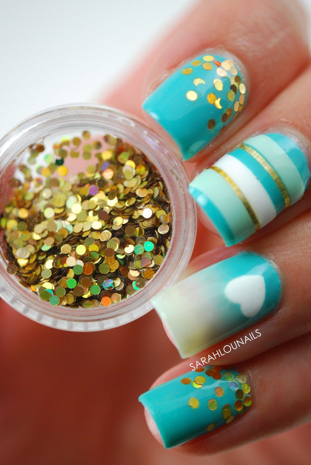 loose glitter instead of glitter polish | Nails | Pinterest | Loose ...