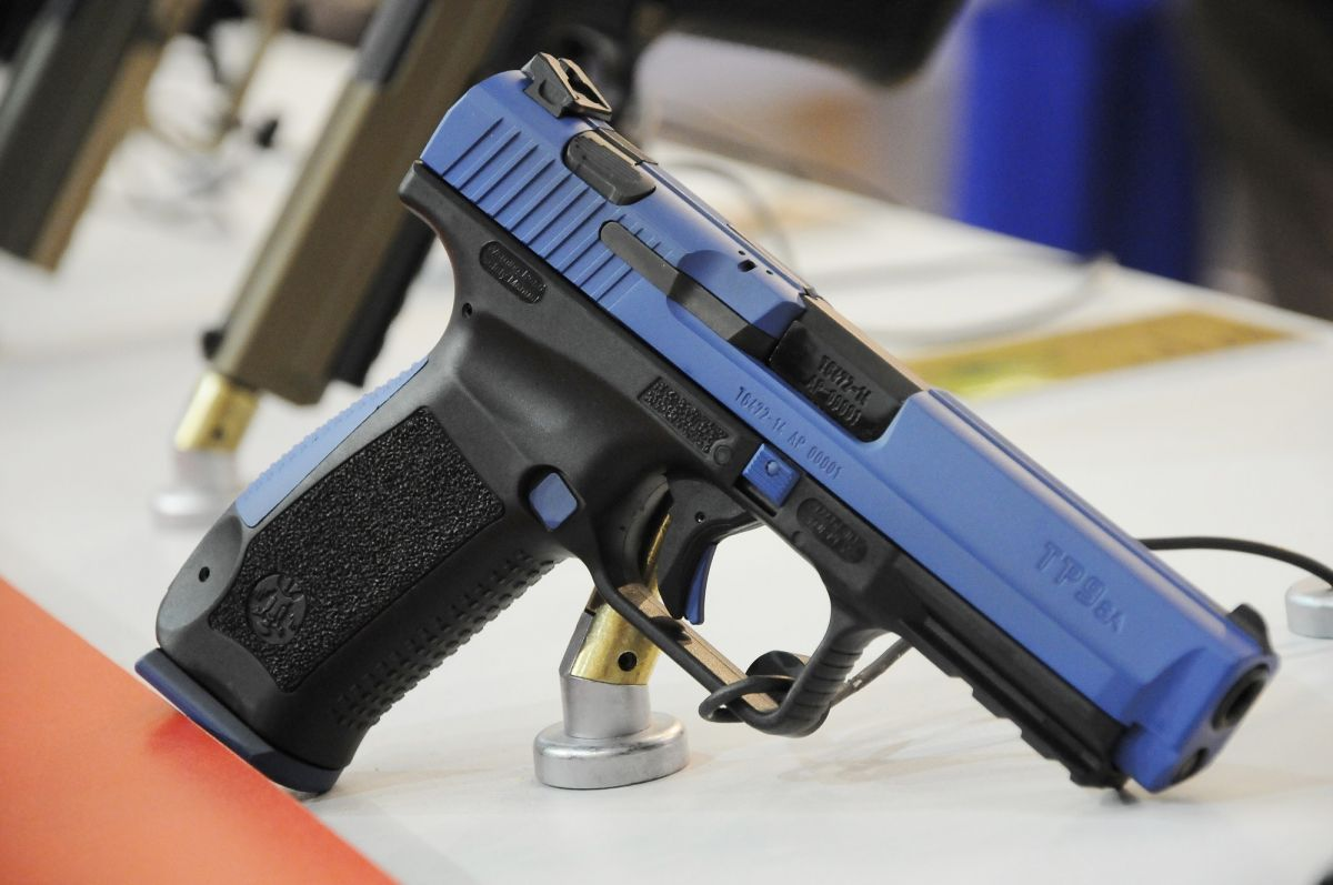 IWA 2015 / The Turkish CANIK 55 company showcased the TP-series striker-fired semi-automatic pistols
