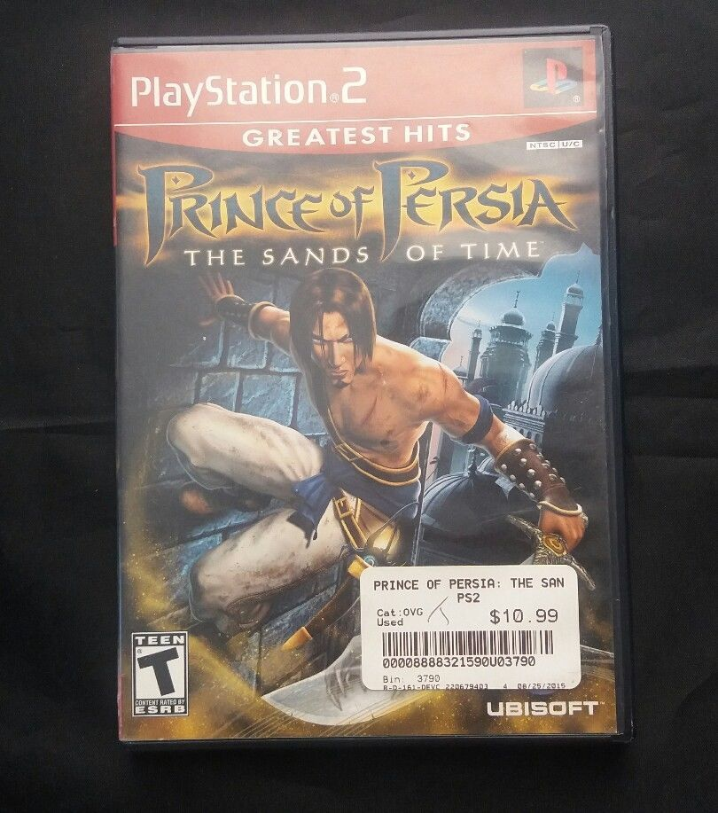 Prince Of Persia Sands Of Time Ps2 Playstation 2 Game Video Games Amp Consoles Video Games Ebay Prince Of Persia Playstation 2 Persia