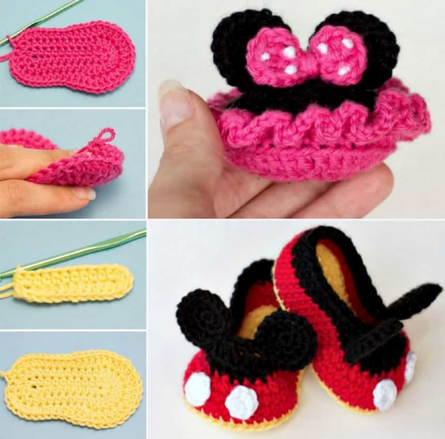 Baby Mickey mouse (Baby Disney Collection) paid amigurumi pattern ... | 906x918